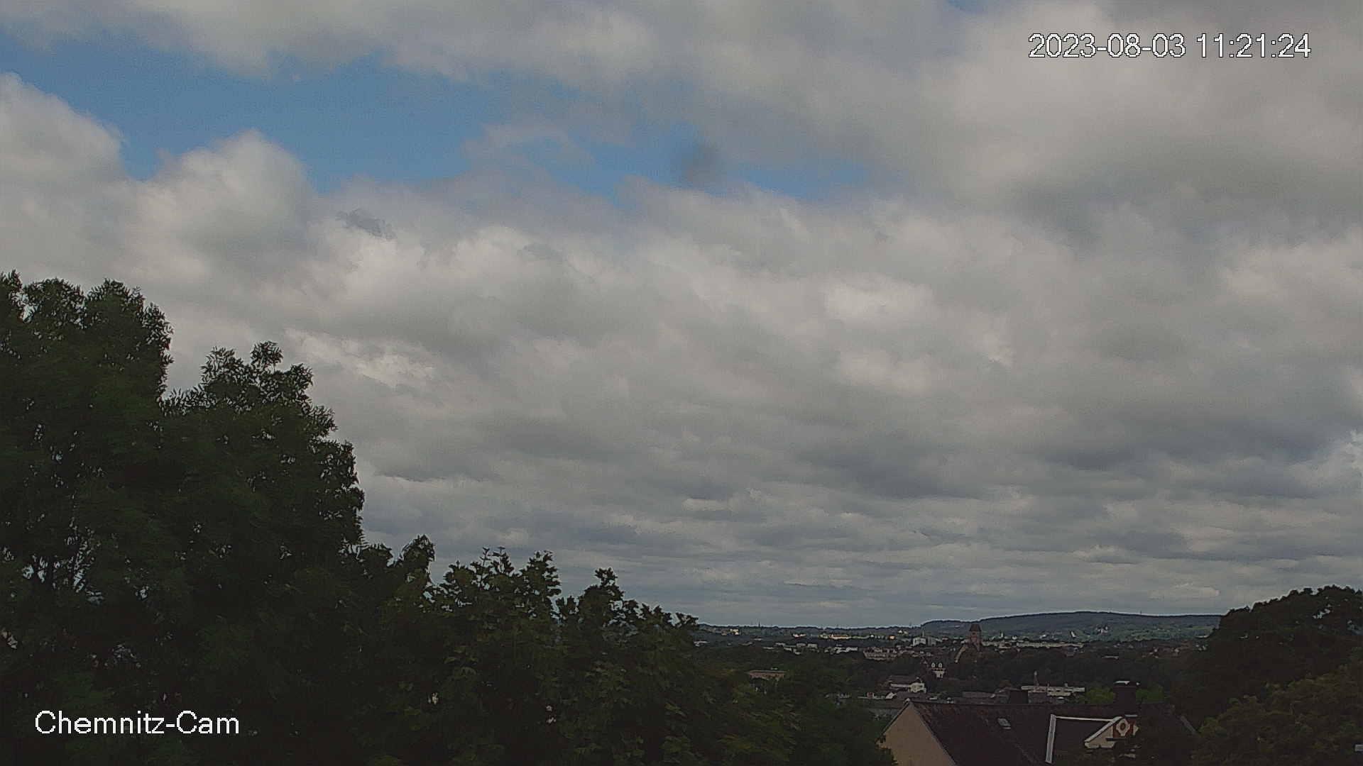 Wetter Webcam Bild Chemnitz rechts